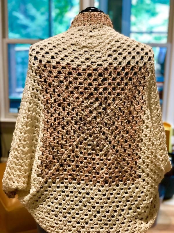 Mochaccino Lion Brand Comfy Cotton Blend Yarn
