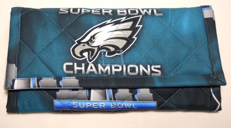 Philadelphia Eagles Super Bowl 52 Championship Cotton Fabric  d5ba33360