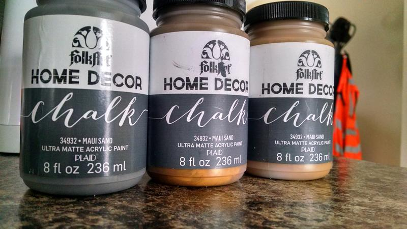 left unopened middle opened right unopened - Home Decor Chalk Paint