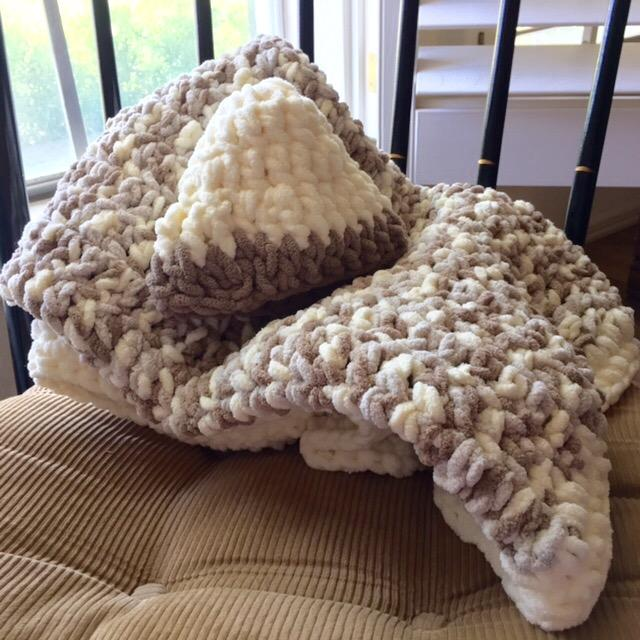Sand Baby Spinrite Baby Blanket Yarn