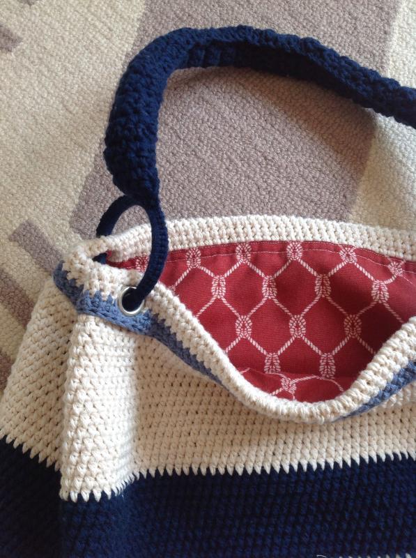 Nautical Hobo Bag Joann