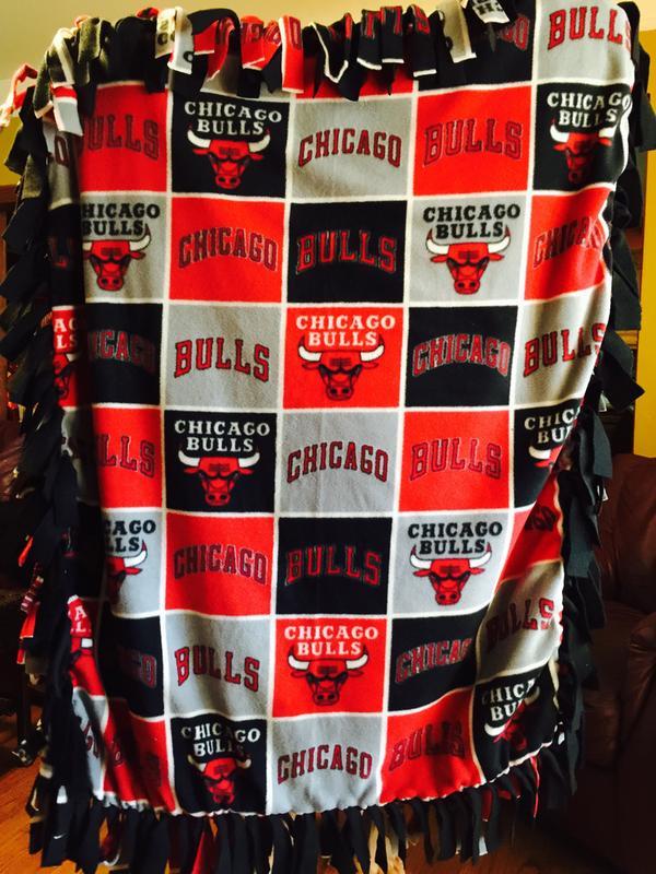 chicago bulls fleece fabric 58 block joann