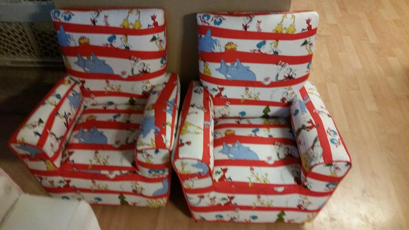 Dr. Seuss Chairs