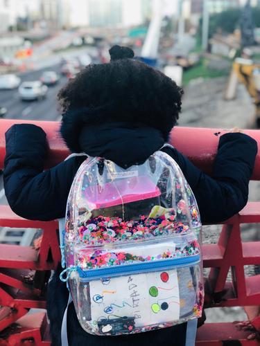 89d7d55384 Girls  clear sequin backpack - Girls  Accessories