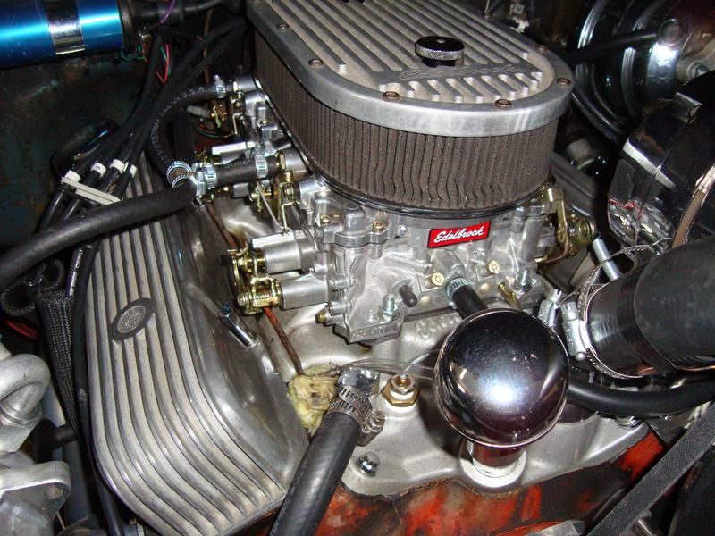 Edelbrock Performer Series Carburetor 500 CFM with Manual Choke