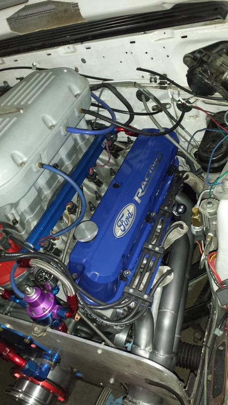 Slant Edge Proform Ford Racing Valve Covers