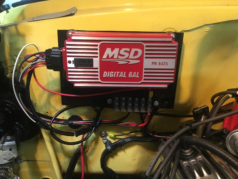 MSD Digital 6AL Ignition Control Module 6425 CARB with Built In REV Limiter