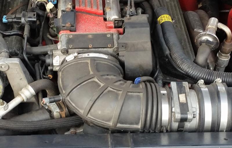 JEGS Cast Aluminum 90° LT1 Intake Elbow Silver Powder Coat