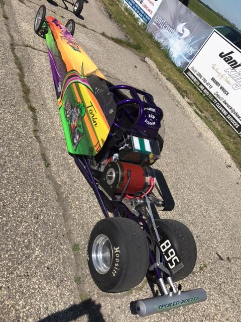 JEGS Electric Jr  Dragster - Turn Key