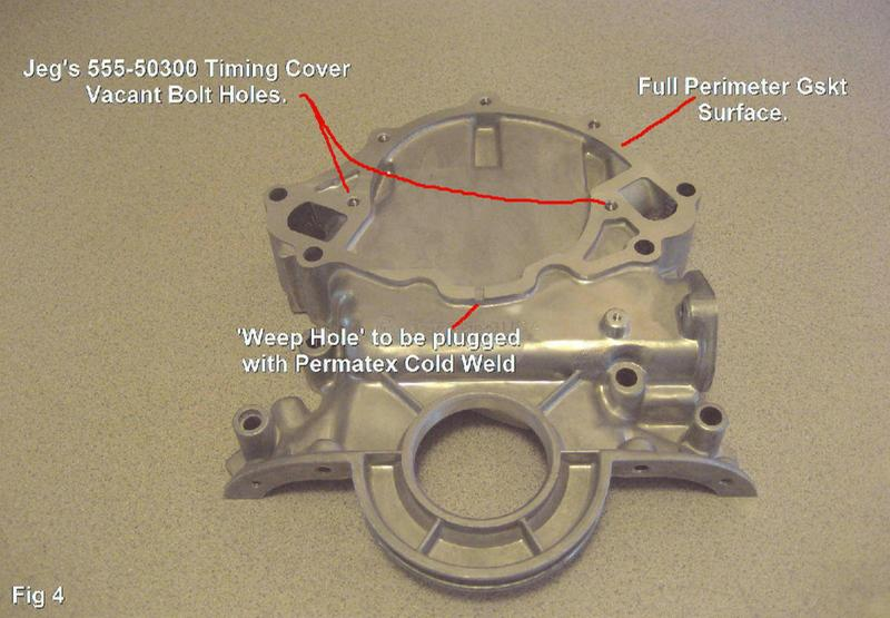 JEGS Timing Cover for 1966-1995 Small Block Ford 289-302-351W