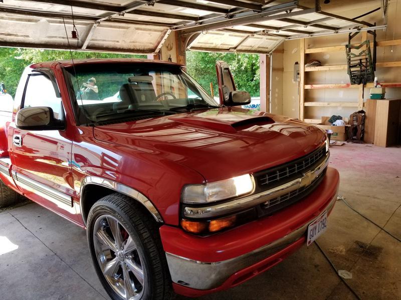 SLP Performance 10005 Hood Scoop Two-Piece Composite 05-10 Mustang
