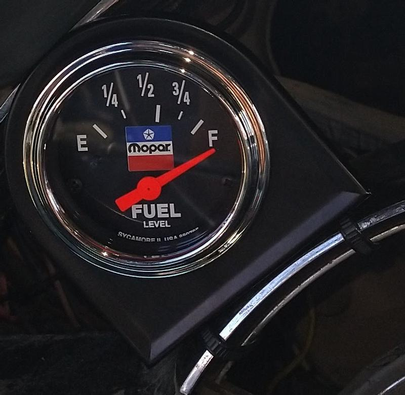 AutoMeter 880785 MOPAR Classic Electric Fuel Level Gauge
