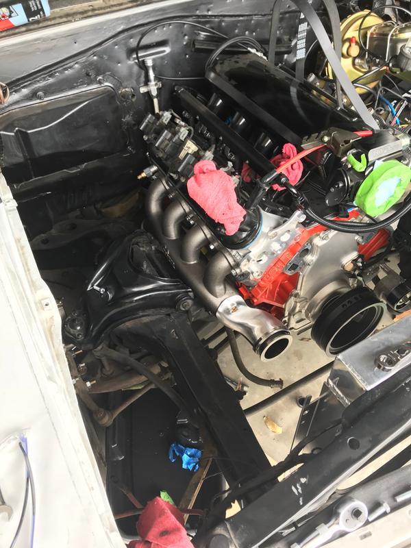 Hooker Headers GM LS Turbo Exhaust Manifolds