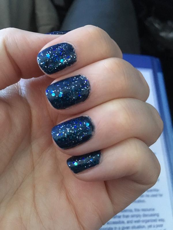 Melody - It Girl - Iridescent high gloss glitter top coat Nail ...