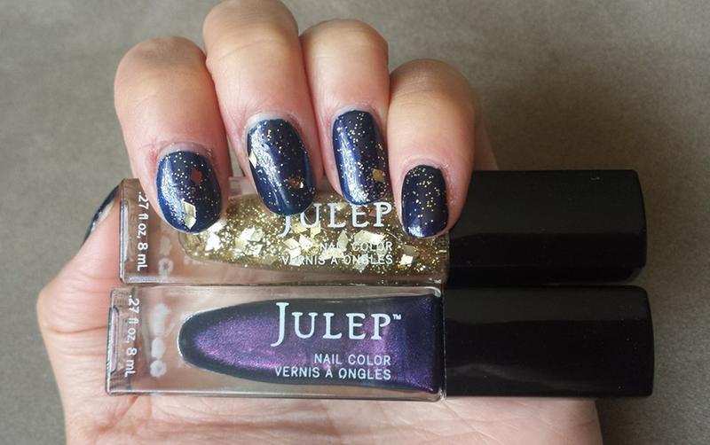 Elise Indigo with purple microshimmer | Julep
