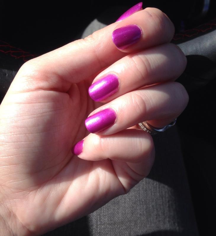 Katie Orchid iridescent chrome Nail Polish | Julep