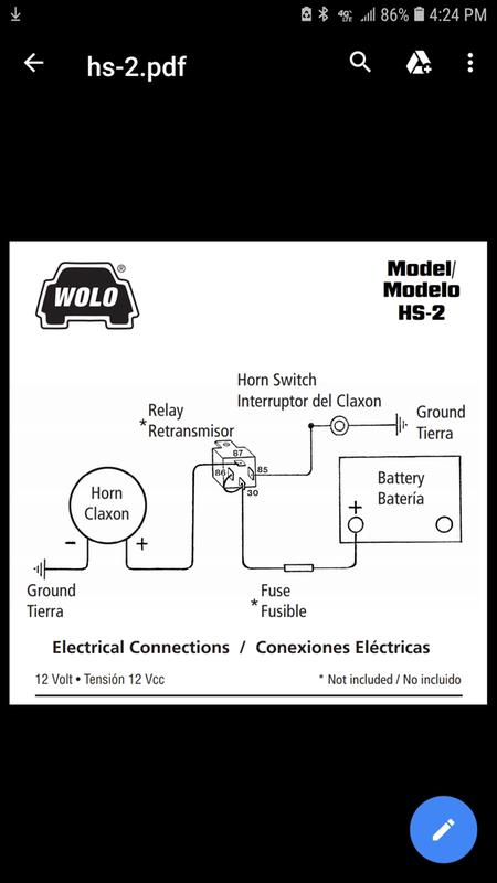 Wolo Horn Wiring Diagram - How To Test Car Fuse Box With Multimeter  scheme-wirings.au-delice-limousin.fr | Wolo Wiring Diagram |  | Bege Place Wiring Diagram - Bege Wiring Diagram Full Edition