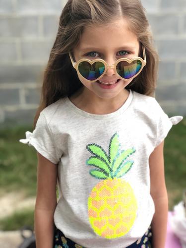 f40b4e74709 Glitter Heart Sunglasses