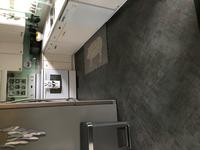Terraza Grand 1 Piece 18 In X 18 In Aspen Gray Stained Concrete Peel And Stick Vinyl Tile