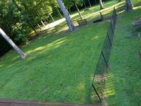 Actual: 50-ft x 4-ft) Vinyl Coated Steel Chain-link Fence