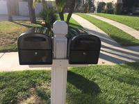 Architectural Mailboxes 11 2-in W x 11 5-in H Metal Pewter