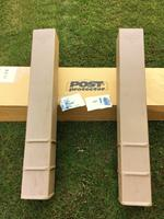 Post Protector (Actual: 5 75-in x 5 75-in x 42-in) Decay
