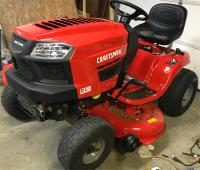 T130 18 5-HP Automatic 42-in Riding Lawn Mower with Mulching Capability  (Kit Sold Separately)