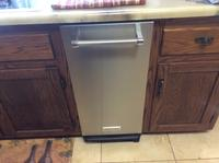 Kitchenaid 15 In Stainless Steel Undercounter Trash Compactor At