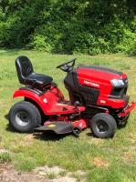 CRAFTSMAN T210 Turn Tight 18-HP Hydrostatic 42-in Riding Lawn Mower
