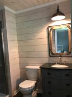 7 5-in x 8-ft Unfinished Pine Shiplap Wall Plank (Coverage Area: 5