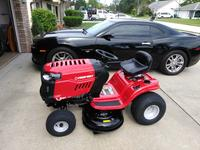 Troy-Bilt Pony 17 5-HP Manual/Gear 42-in Riding Lawn Mower with