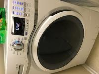 GE 4 5-cu ft Stackable Front-Load Washer (White) ENERGY STAR
