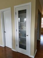 Reliabilt Frosted Pantry Primed White 1