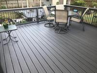 Deckorators Tropics 16 08-ft Tidal Gray Grooved Composite