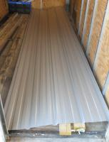Union Corrugating 3 17-ft x 12-ft Ribbed Metal Roof Panel at