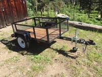 Carry-On Trailer 3 5-ft x 5-ft Wire Mesh Utility Trailer at Lowes com
