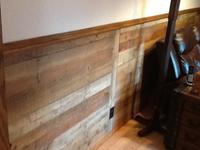 48-in x 8-ft Smooth Weathered Barnboard MDF Wall Panel at