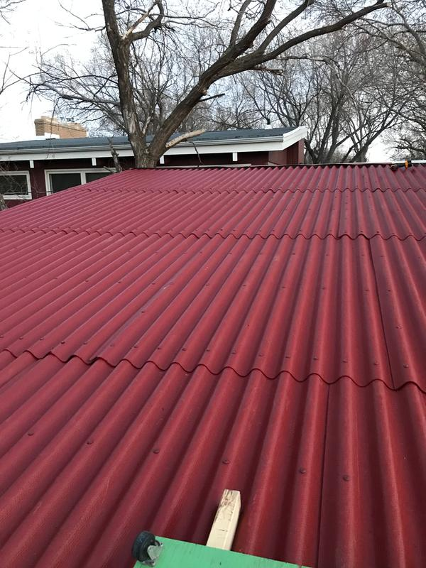 Ondura Corrugated Panel 158 Rona