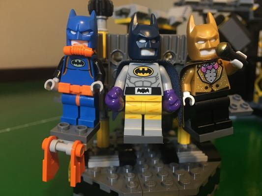 LEGO Superheroes™ Raging Suit Batman Minifig from 70909