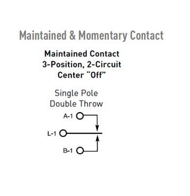 single pole/double throw switch diagram