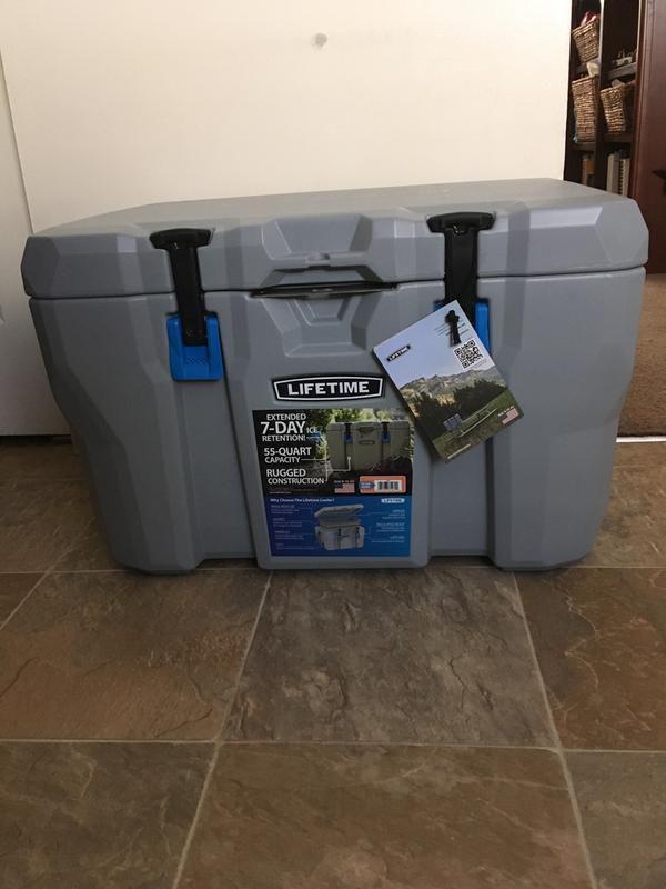 Lifetime 55 Quart High Performance Cooler