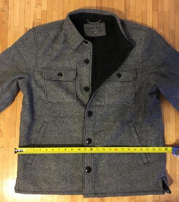 4d78ce89a646d Signature Lined Wool-Blend Shirt Jacket, Slim Fit Plaid