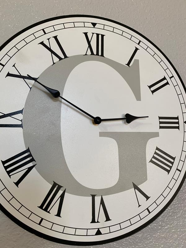 Monogram Farmhouse Wall Clocks Ltd Commodities