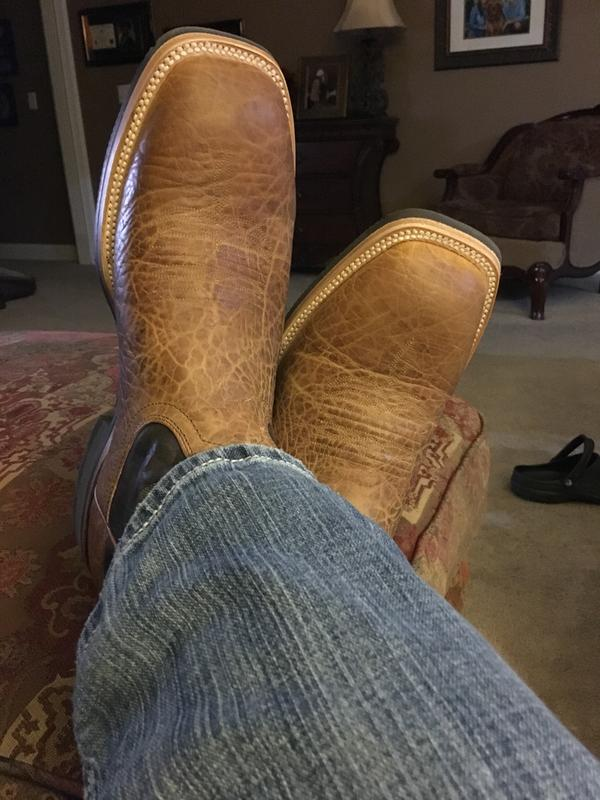 My new barn boots.  Clean for now.