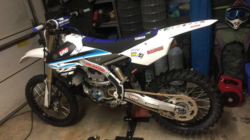 Motocross Gripper Seat Cover Yamaha YZ 85 2002-2017 Black