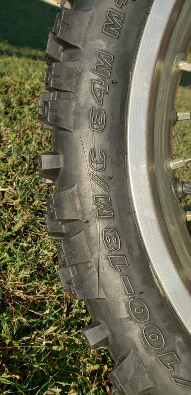 Artrax TG4 Rear Tire