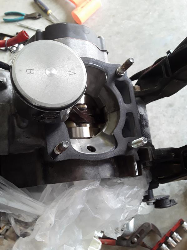 Prox Racing Parts 01.3310.D Piston Kit