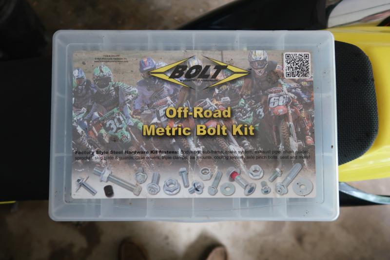 Bolt Off-Road Metric Bolt Motorcycle Hardware Kit