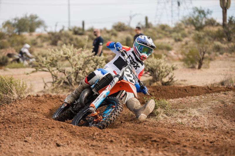 Fox gear in the desert