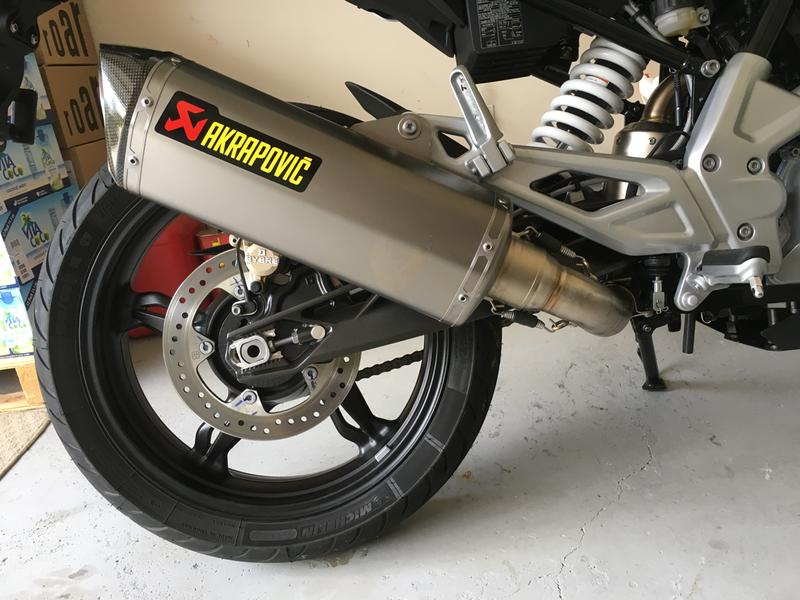 Akrapovic Racing Full System Exhaust